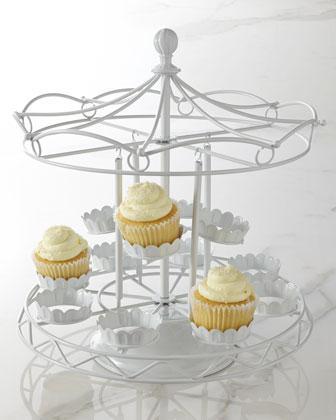 Carousel Cupcake Holder