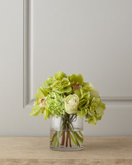 Diane James Hydrangea and Orchid Bouquet