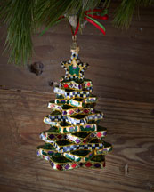 Stacking Star Tree Christmas Ornament