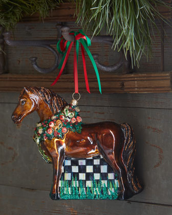 Best In Show Horse Ornament
