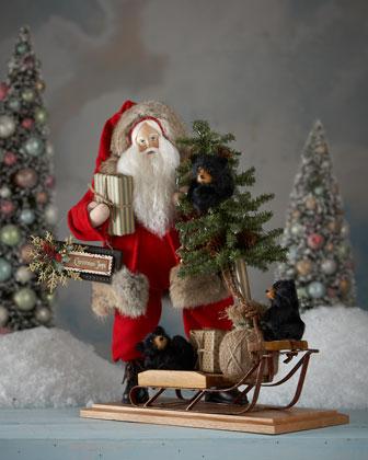 Forest Crossing Santa