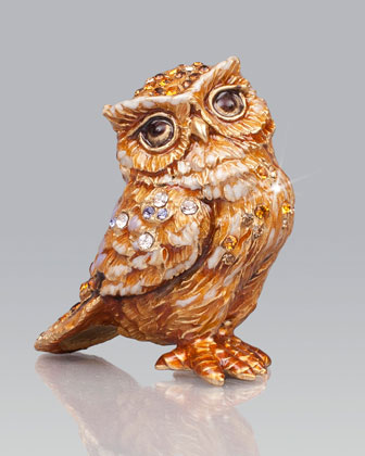 Bill Owl Mini Figurine