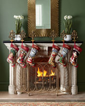 Needlepoint Christmas Stocking