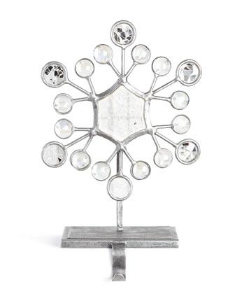 Snowflake Christmas Stocking Hooks