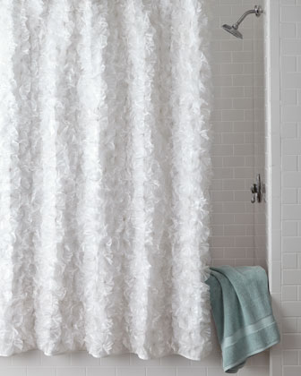 Imported Shower Curtain | Neiman Marcus | Imported Shower Drape