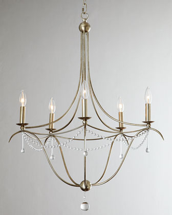 Simple Elegance Five-Light Chandelier