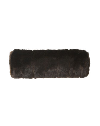 Faux Fur Bolsters