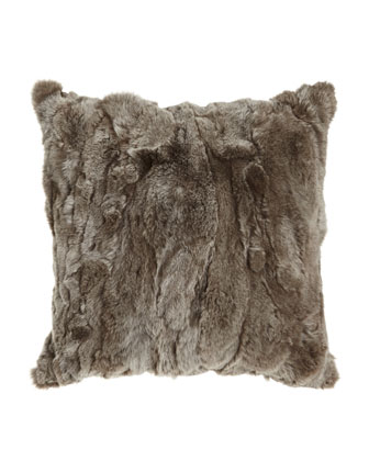 Fur Throw & Pillows