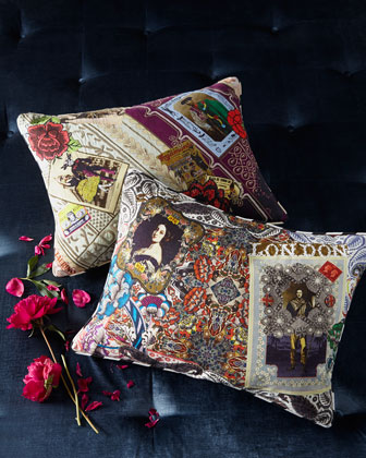 Digital-Print Accent Pillows
