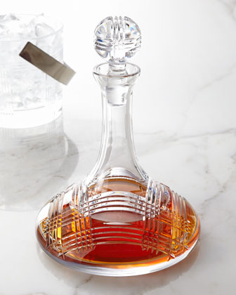Glen Plaid Ships Decanter