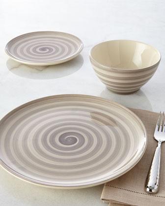 12-Piece Swirl Dinnerware Service