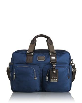 Alpha Bravo Knox Backpack, Everett Tote, & Beale Mini Messenger