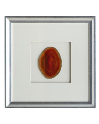 Framed Agate Wall Decor