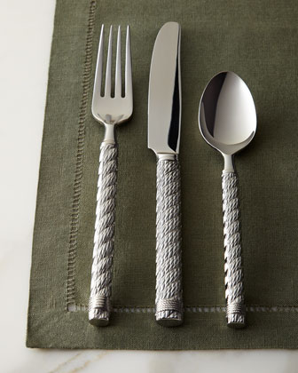 Five-Piece Rope Flatware Place Setting