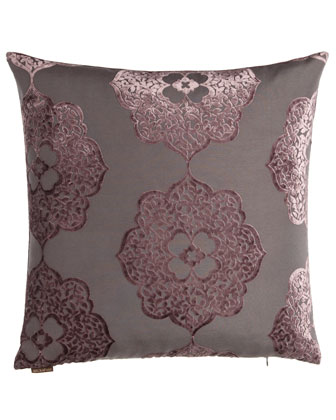 Purple Floral & Striped Pillow Group