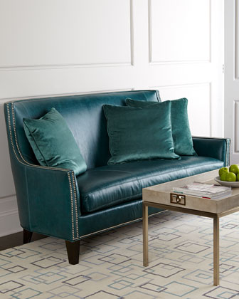 Sea Isle Leather Sofa