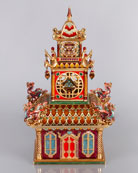 Large Triple Pagoda Box