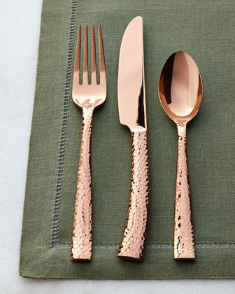 20-Piece Paris Hammered Flatware Service