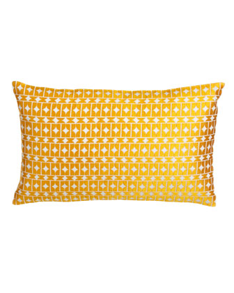 Wicker-Pattern Pillow, 22