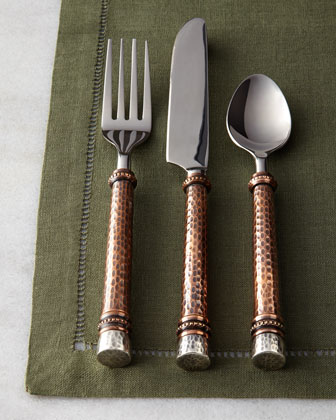 20-Piece Hammered Flatware Service