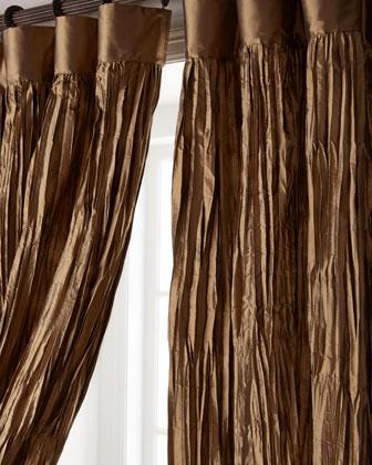 Crushed Silk Dupioni Curtains