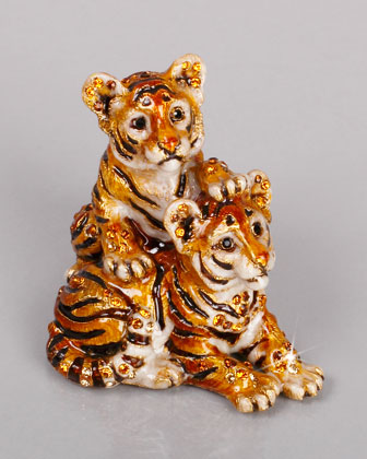 Theo & Max Tiger Cubs Figurine