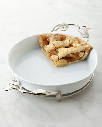 Botanical Leaf Pie Plate