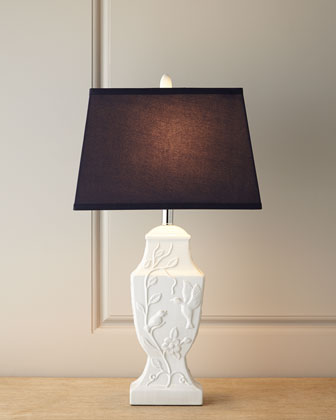 Ceramic Birdie Table Lamp
