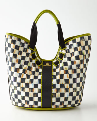 Courtly Check Large Tote