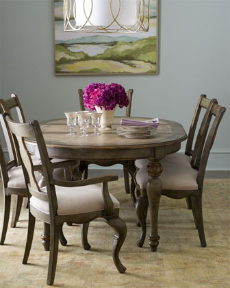 Claresta Dining Furniture with Round Table