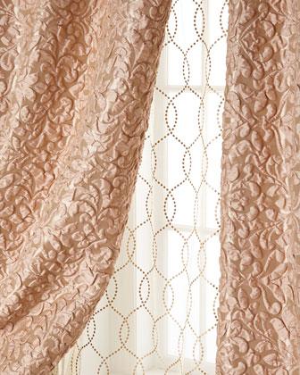 Harlowe Puckered Damask Curtains