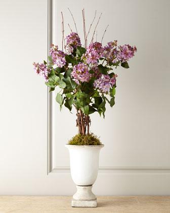 Lilacs Faux Floral
