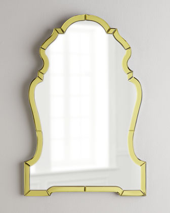 Gold Mirror Framed Mirror