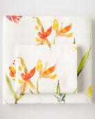 Queen Floral Sheet Set