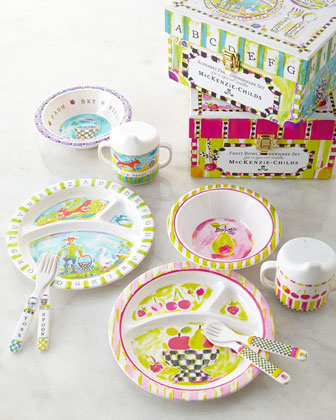 Toddler's Dinnerware Set