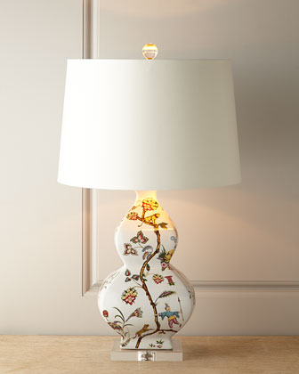 Chinoise Exotique Lamp