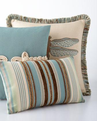 Aqua Outdoor Pillows