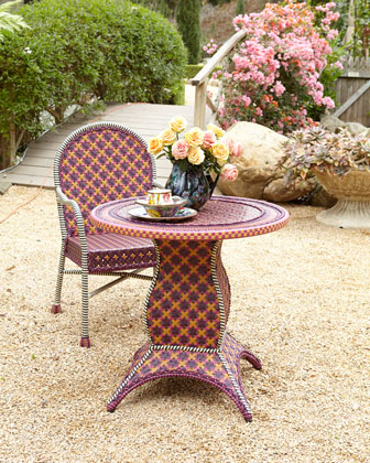 Sunset Outdoor Cafe Table & Chair