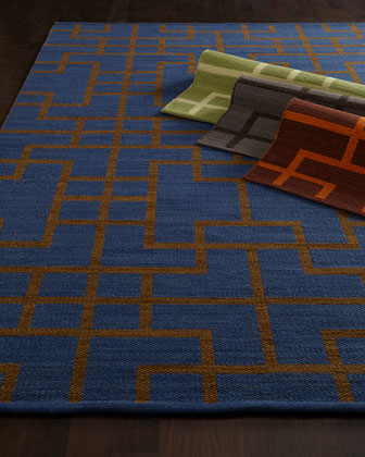 Interlock Maze Rug