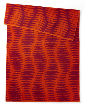 Ribbed Beach Towel