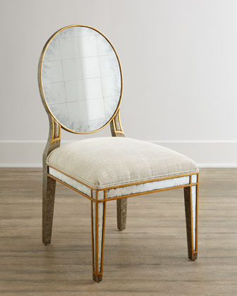 Hand Painted Handcrafted Chair Neiman Marcus