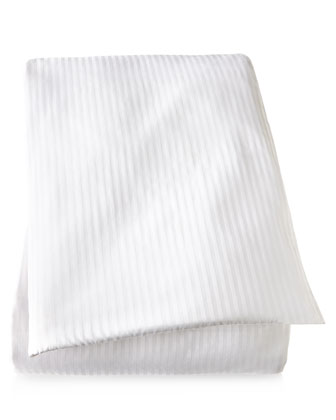 Savannah White Tonal-Stripe Bedding