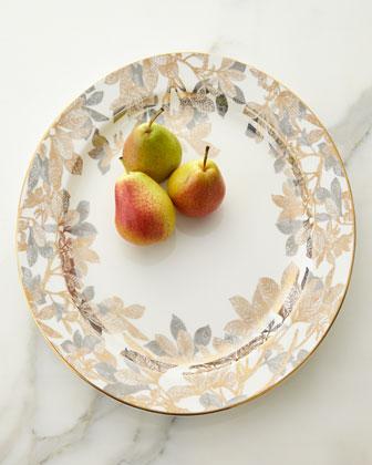Arbor Rimmed Platter & Presentation Bowl
