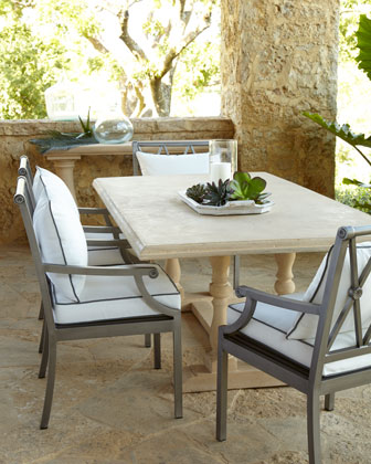 Sophia Outdoor Dining Table,