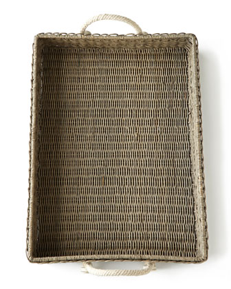 Waveney Wicker Serving Trays