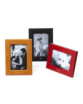 Personalized Leather Picture Frames