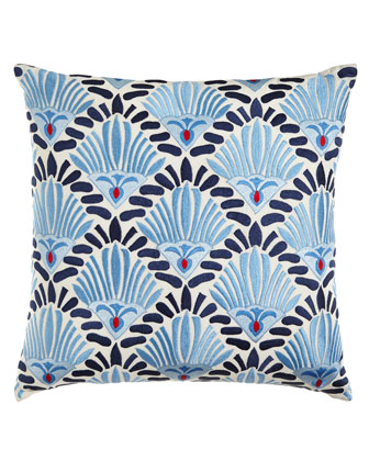 Sabira Nantucket Blue-and-White Pillows