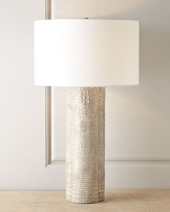 Croc Clover Lamp- Light grey