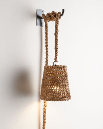 Nantucket Rope Sconce
