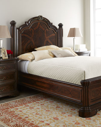 Colette Panel Bed Bedroom Furniture